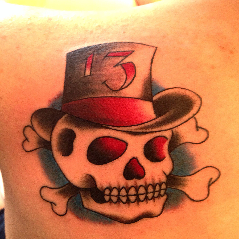 Lucky 13 Tattoo 13 Tattoos Tattoo Drawings Tattoos