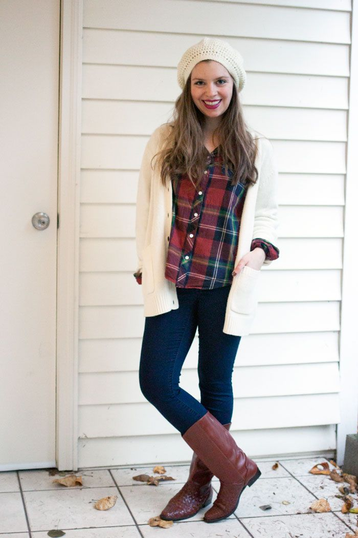 Thrifty Thursday: Oversized Sweater Outfit | Oversized sweaters ...