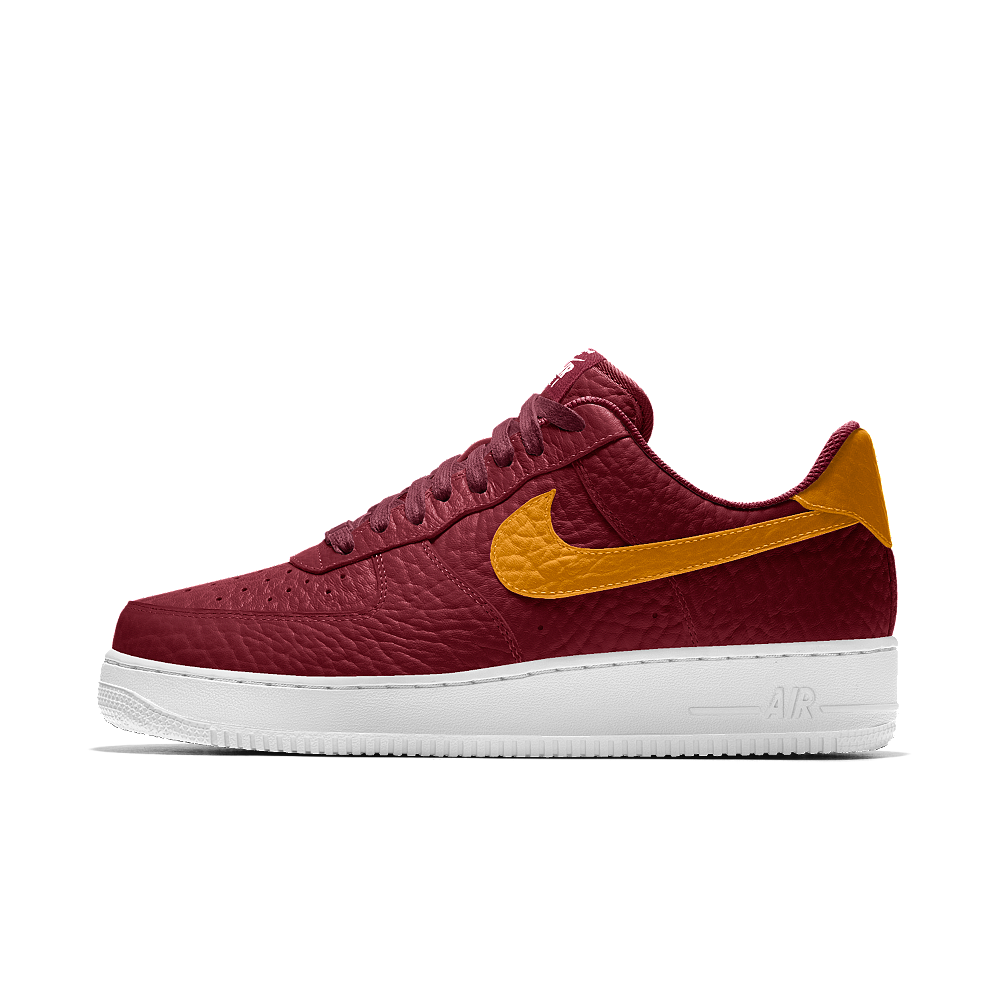 detailed look f9d41 13c27 ... Nike Air Force 1 Low Premium iD (Cleveland Cavaliers) Mens Shoe Size  10.5 ...