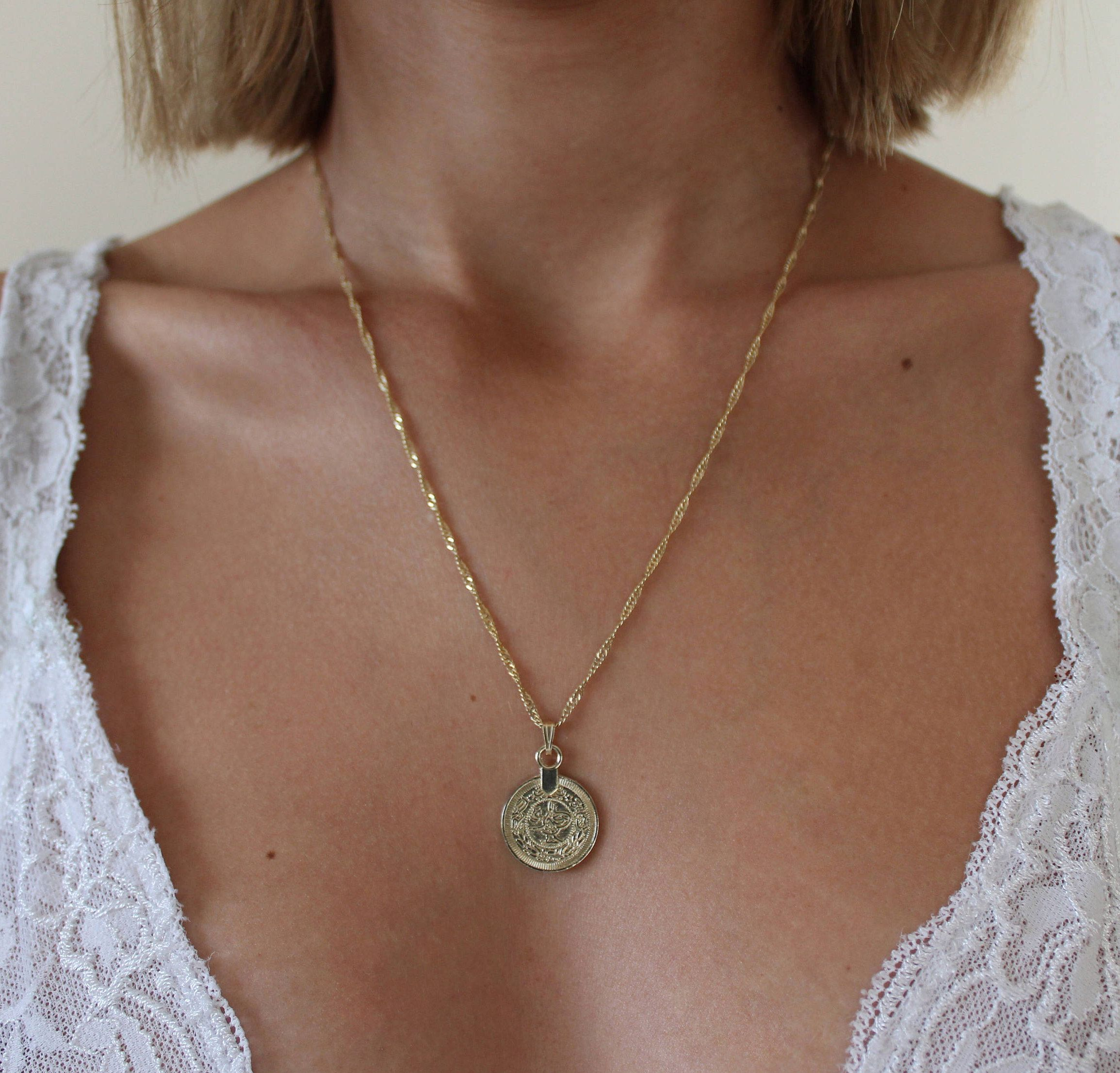long il coin chain medallion madonna necklacegold p virgin gold fullxfull necklace mary