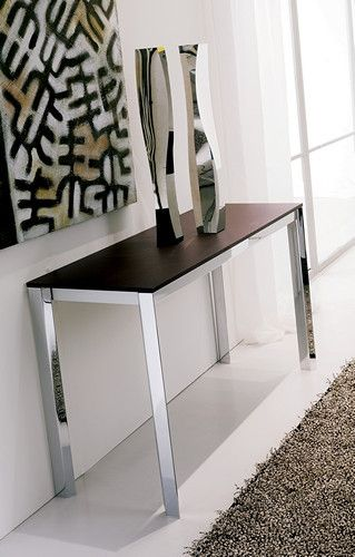 T026 Voila Console Sideboard To Dining Table By Ozzio Pictured Before Extending