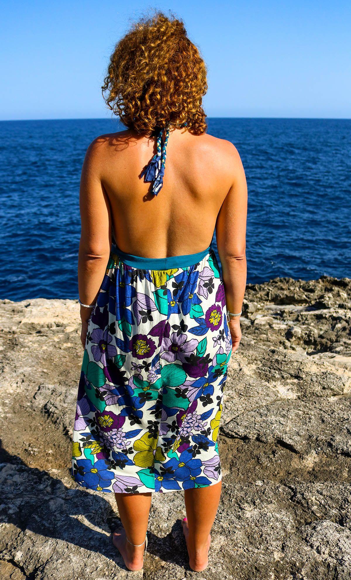 Strandkleid Funkelfaden nähen mit einfacher Anleitung auf ...