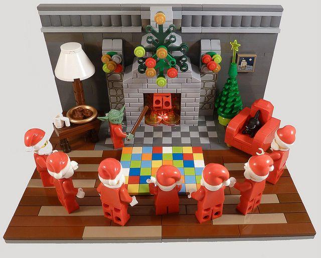 The School Of Santa (International Training Centre Of Santa Skills)  The Training has begun by MinifigNick, via Flickr