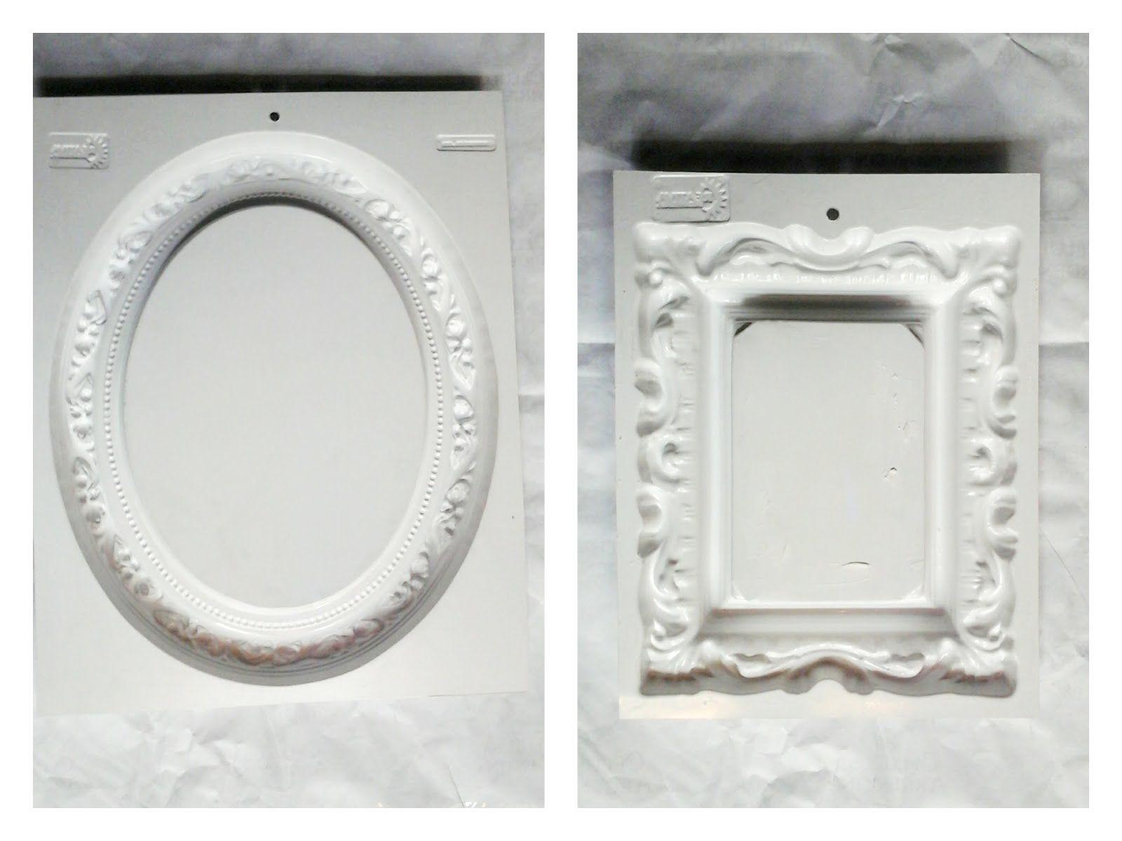Govinda: Como hacer marcos vintage - paso a paso - | Marcos ...
