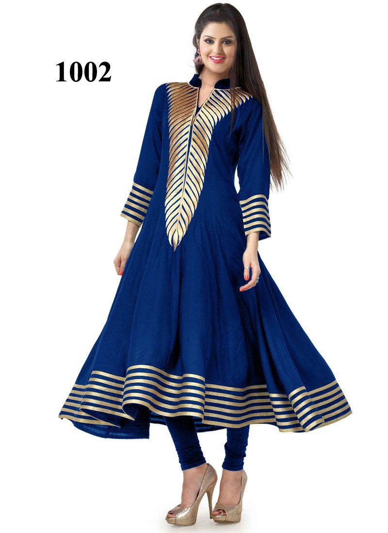 New collection of latest blue kurti craftshopsindia new kurti