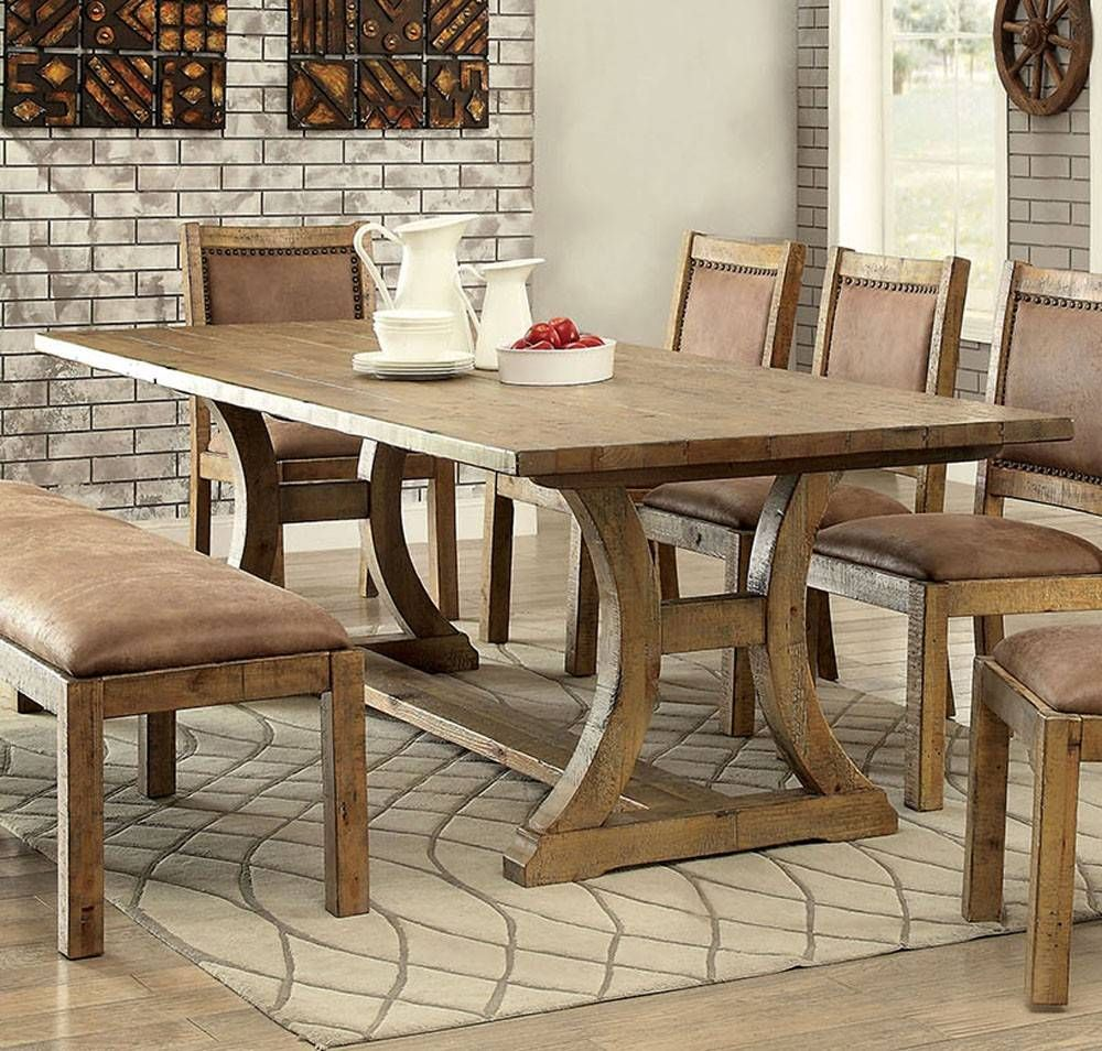 Cm3829t Transitional Style Rustic Pine