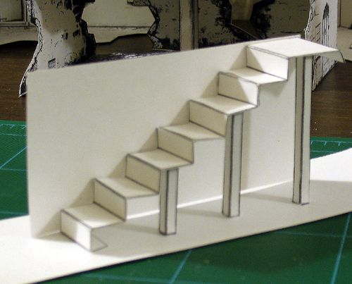 Make Cardboard Stairs New Stairs Design For New Models