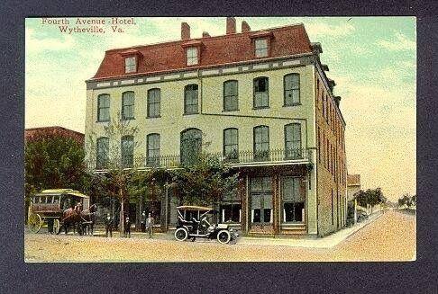 4th Avenue Hotel Wytheville Virginia