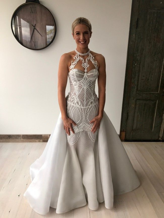 Haute couture halter style wedding gowns from Darius Bridal | Dream ...