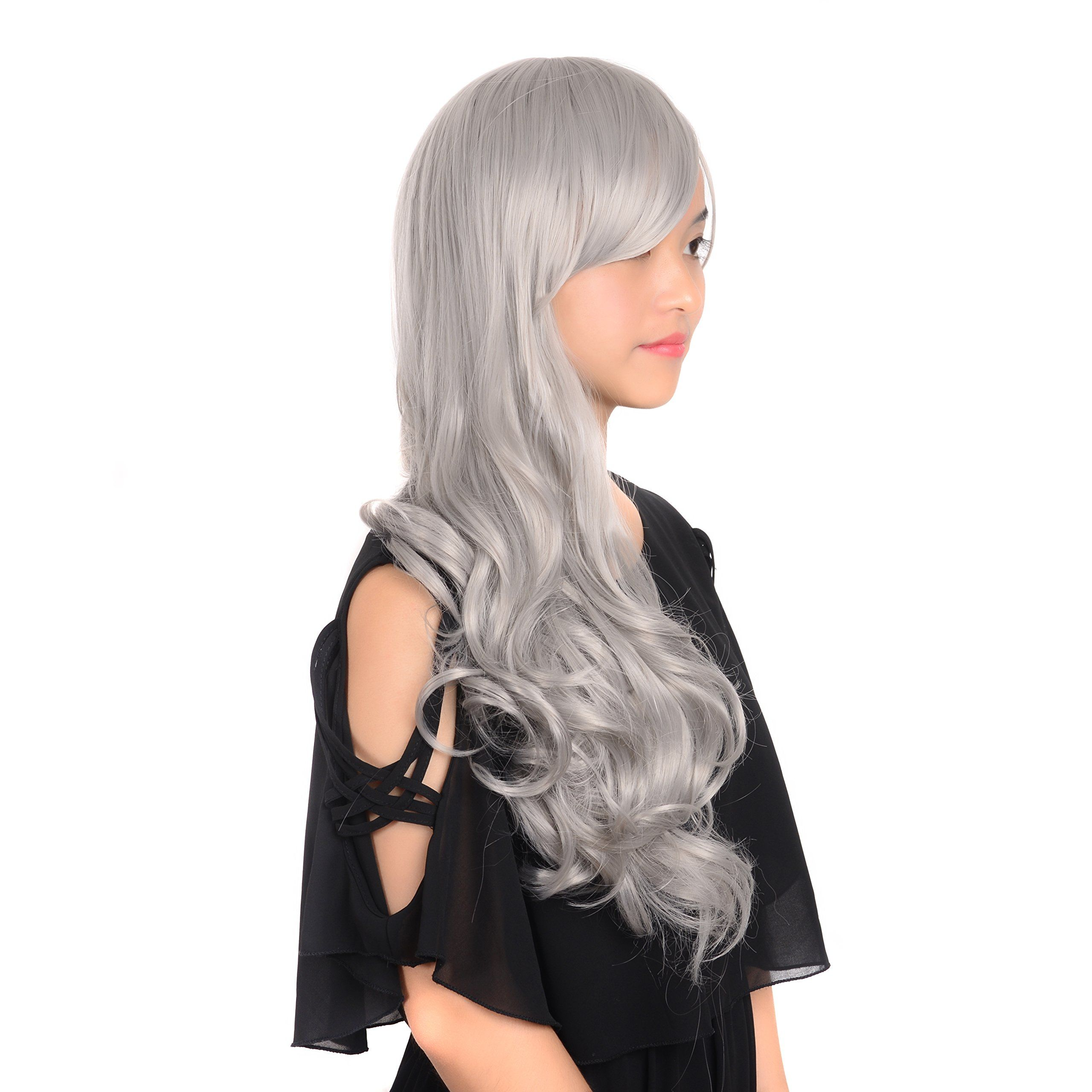 28 Wigs Body Wave Wavy Wigs for Women Cosplay Synthetic ...