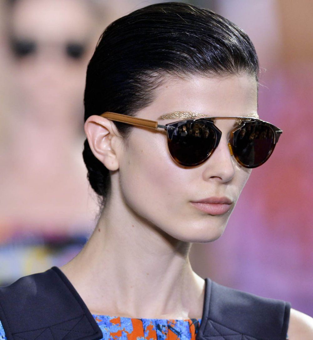 Les lunettes de soleil, défilé printemps été 2014 Dior - Cosmopolitan.fr