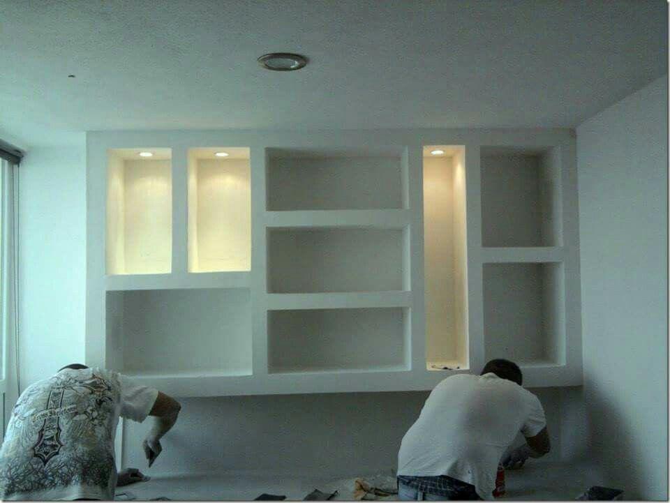 Dise os en tablaroca drywall diy pinterest for Esquineras de pared