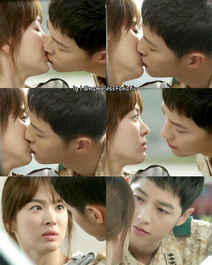 song hye kyo 송혜교 and song joong ki 송중기 descendants of the sun ...