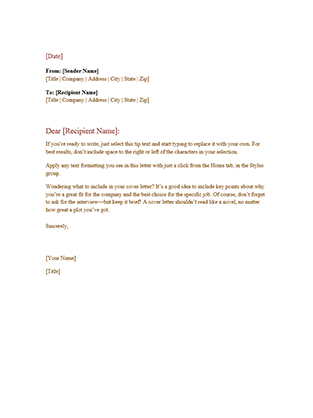 Formal business letter | Ideas for the House | Pinterest | Formal ...