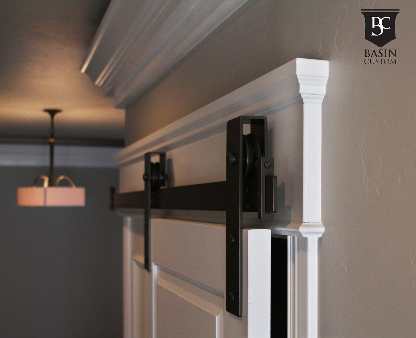Interior Barn Door Hardware Tracks Are Perfect In Areas Of The Home Where  There Is Limited
