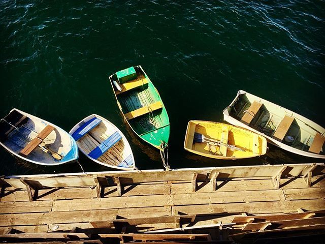A row of rowboats at Fisherman's Wharf🛶  #rowboats #rowrowyourboat #monterey #montereybay #fishermanswharf #californiatravel #californiaadventure #colorful #colorfulboats #roadtrip #notabadpitstop #arewethereyet #montereybaylocals - posted by  https://www.instagram.com/good_jujubee - See more of Monterey Bay at http://montereybaylocals.com