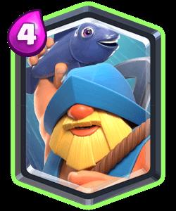 Fisherman Legendary Clash Royale Card Clash Royale Cards Clash Royale Clash Royale Deck