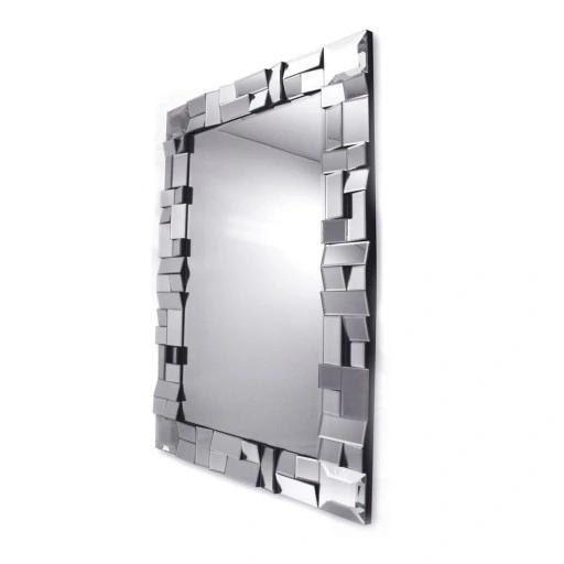 Lustro Dekoracyjne W Fazowanej Ramie Lustrzanej Pr 8774031585 Oficjalne Archiwum Allegro Mirror Bathroom Medicine Cabinet Medicine Cabinet