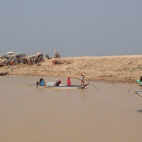 La rive du Tonle Sap 1 - Siem Reap - Cambodge