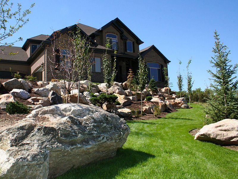 RockScapes   Outdoor, Backyard, House styles on Backyard Rockscape Ideas id=63782