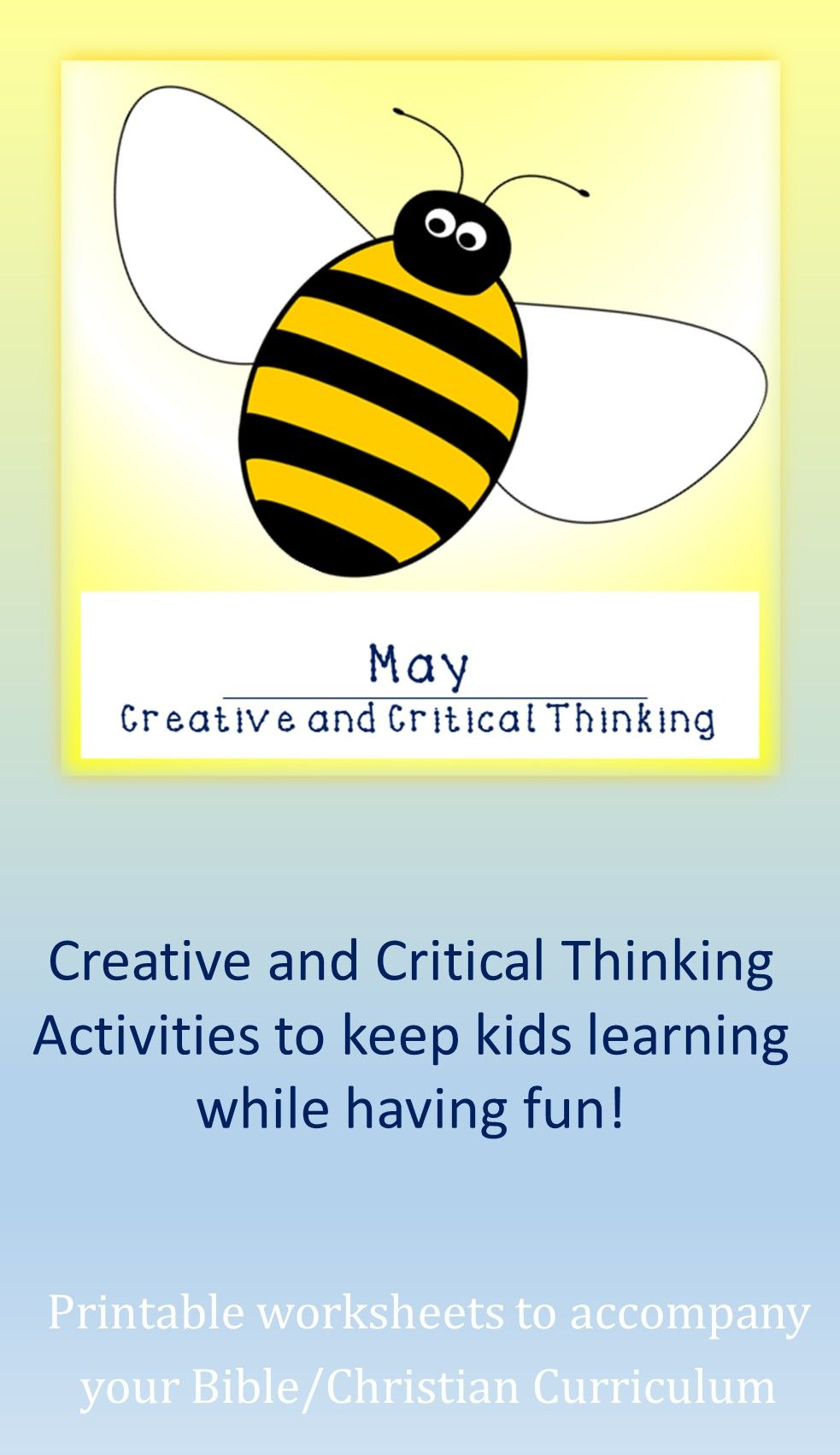 May Creative And Critical Thinking In 2020 Critical Thinking Activities Christian Curriculum Critical Thinking [ 1701 x 983 Pixel ]