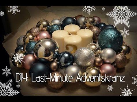 Adventskranz Aus Christbaumkugeln.Aurata Design Weihnachts Spezial Adventskranz Aus Kugeln