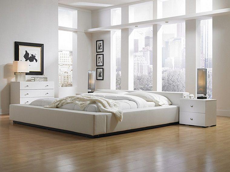 camera da letto bianca quadri cornice nera | camere da letto nel ...