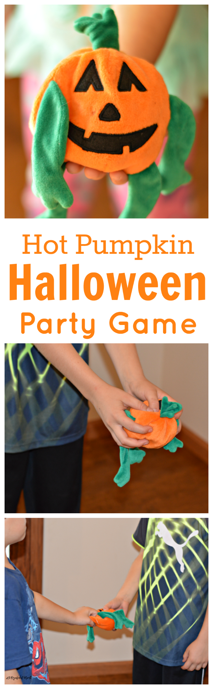 Hot Pumpkin Halloween Party Game | Halloween party games