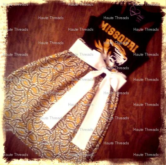 Mizzou game day dress!