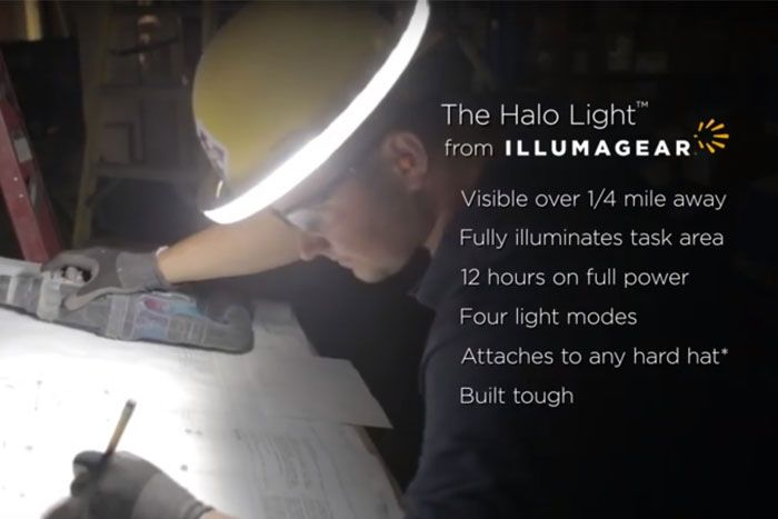 The Halo Light By Illumagear Is Creating A Safety Revolution May 2016 Halo Revolution Safety