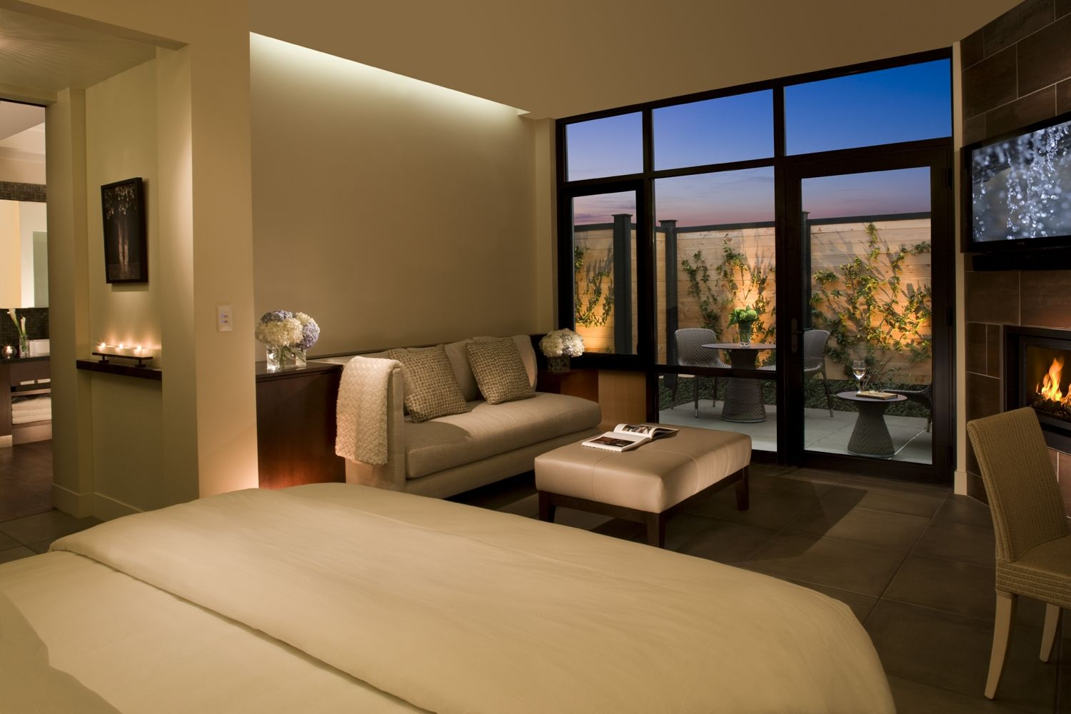 Steam Spa Suite At Bardessono In Napa Valley Suite Features