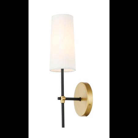 Bathroom Fixtures Indoor Lighting Elegant Lighting LD6004W5BK