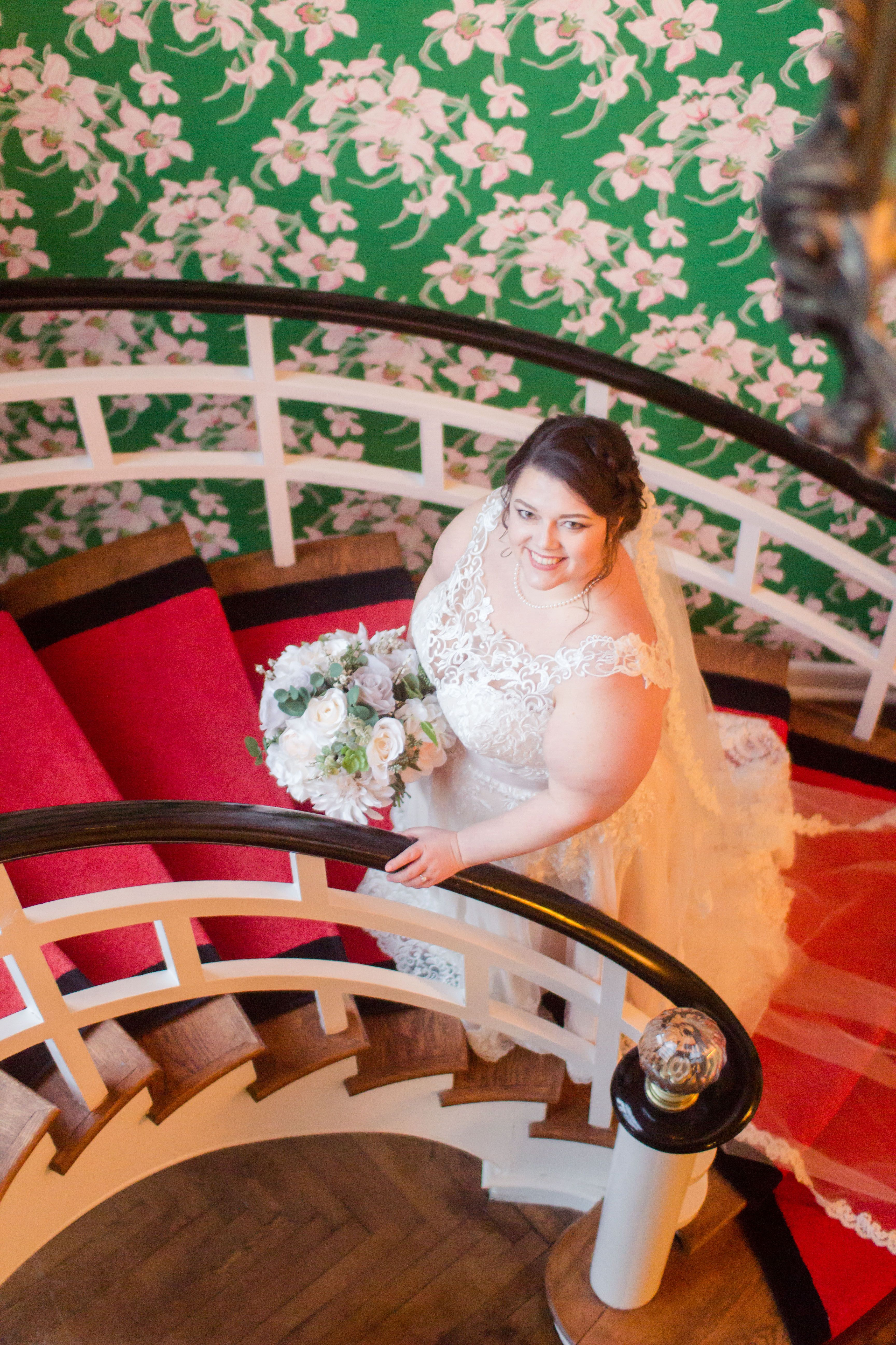 The Greenbrier resort West Virginia bridal photos