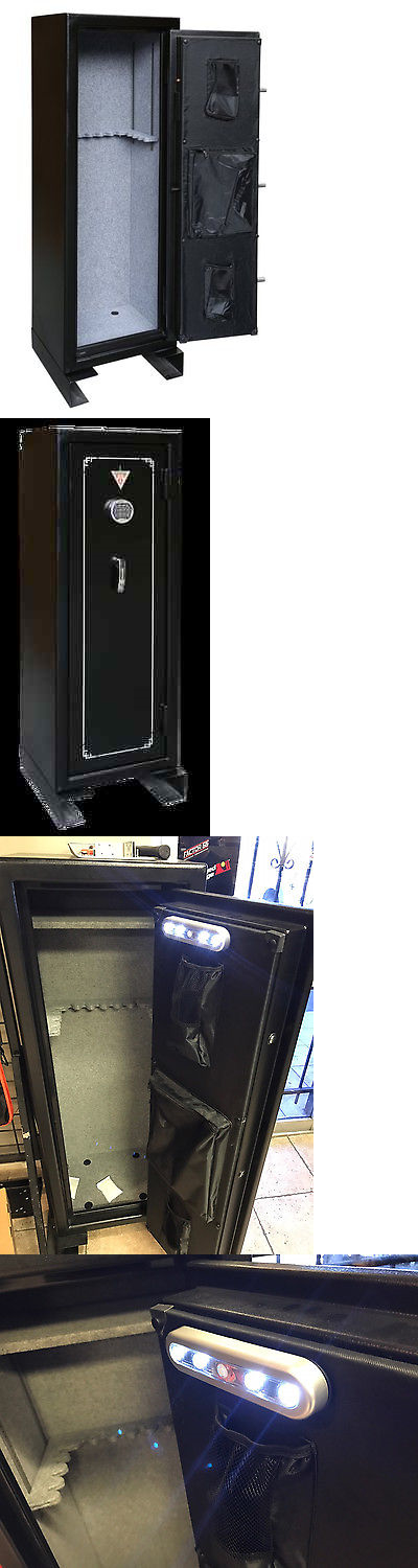 Cabinets and Safes 177877: 18-Gun Security Tactical Safe Key Lock Electric Cabinet Gun Safe Black New! -> BUY IT NOW ONLY: $349.99 on eBay!