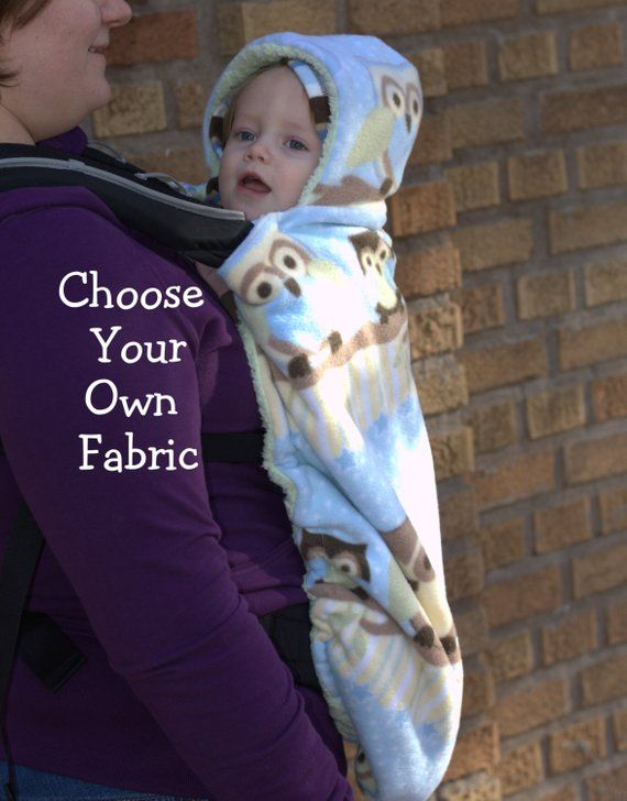 60f8600a183 Baby Carrier Cover for Babywearing - Choose your fabric