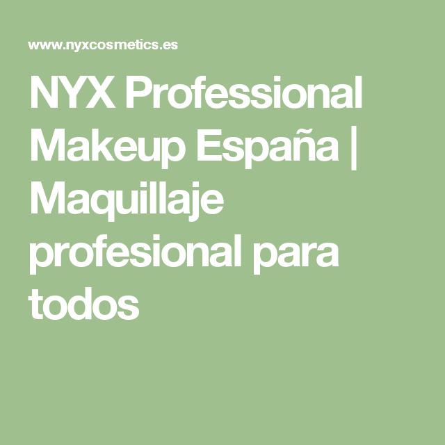 NYX Professional Makeup España   Maquillaje profesional para todos