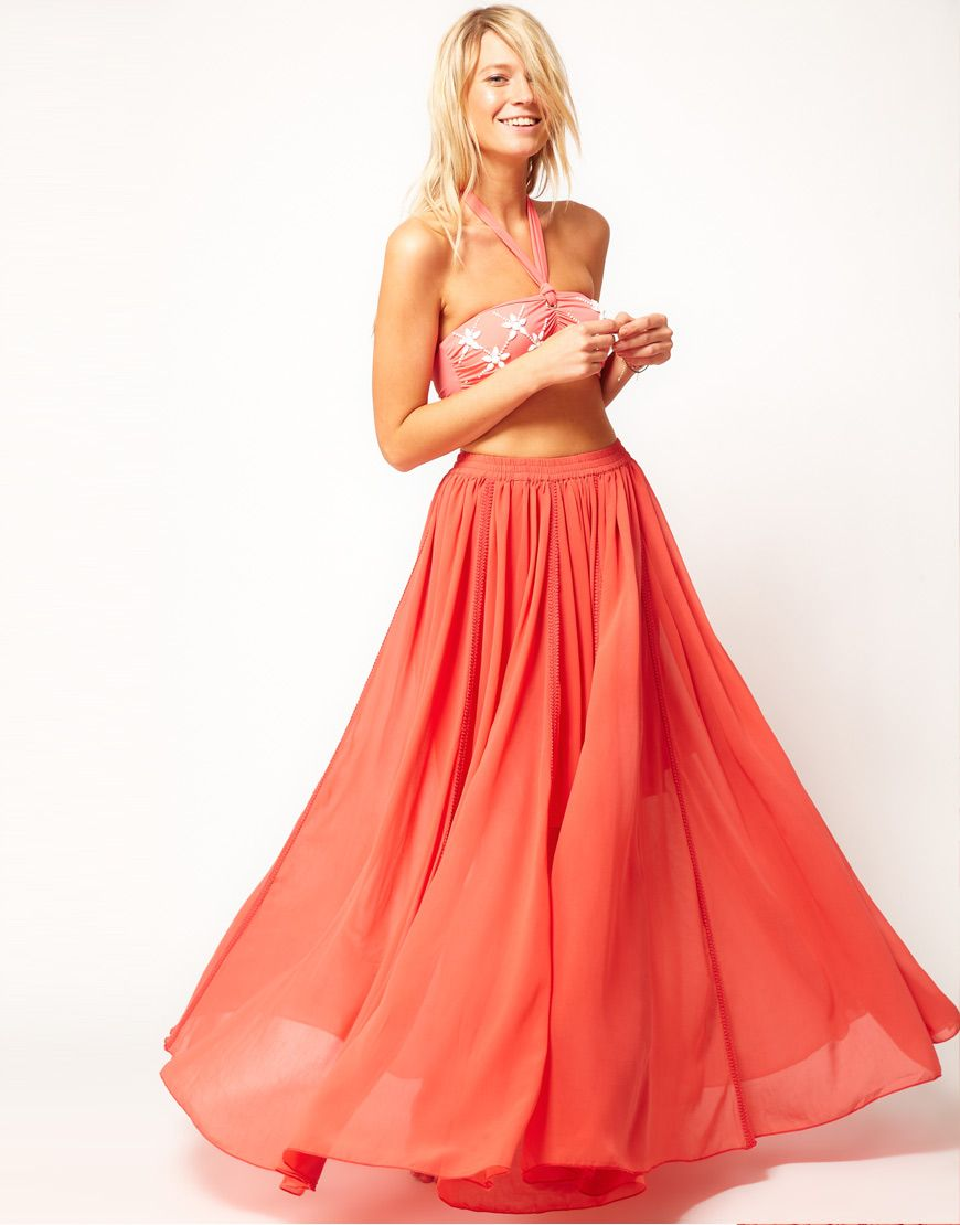 flowy maxi skirt. yes please!