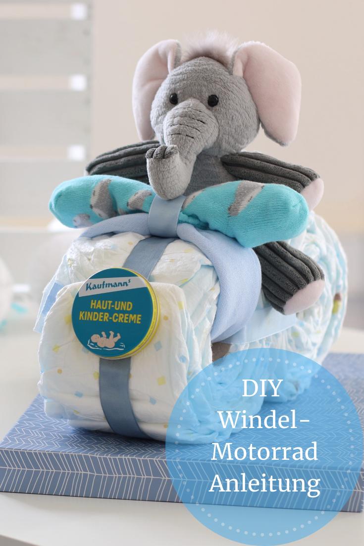 DIY Babygeschenk: Alternative zur Windeltorte. Cooles