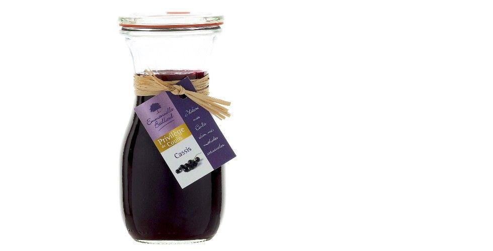 Coulis de cassis noir de Bourgogne [Emmanuelle Baillard]