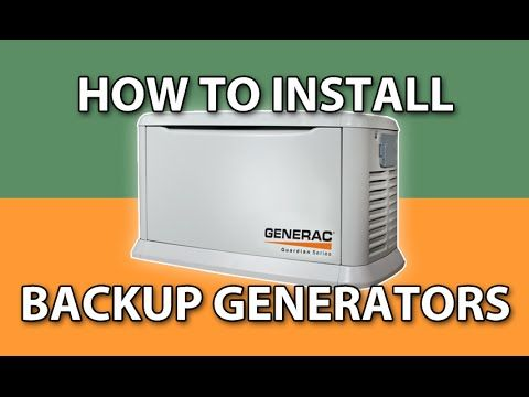 How To Install A Transfer Switch For A Portable Generator This Old House Youtube Standby Generators Backup Generator Transfer Switch