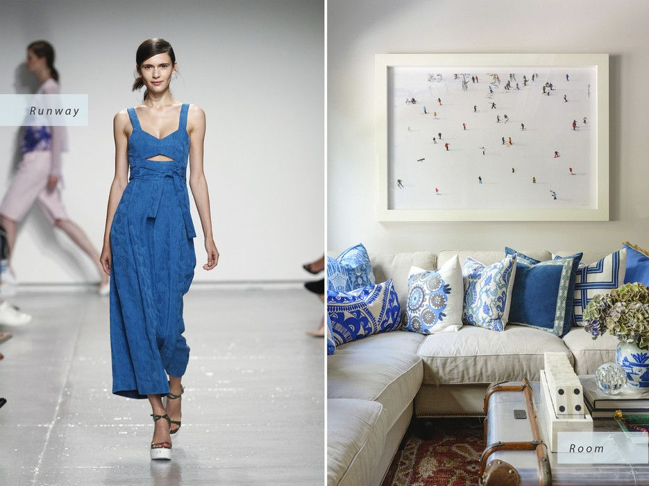 Image result for How runway fashion can inspire your interior design