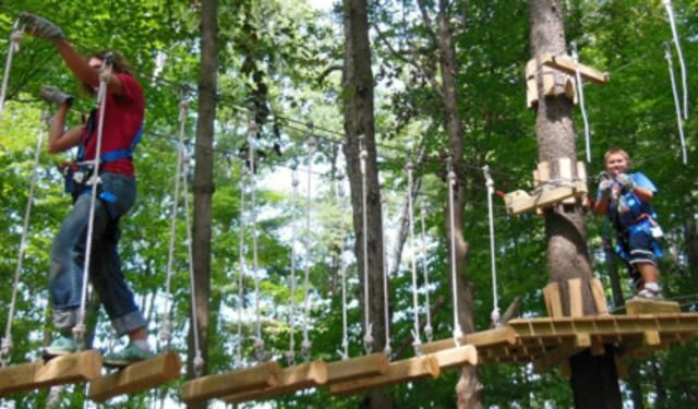 10 Fun Things To Do In Virginia Beach With Kids Go Zip Lining Through The