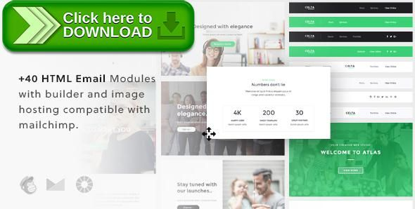 Free nulled Celta - Responsive Email Template + Builder download - marketing email template