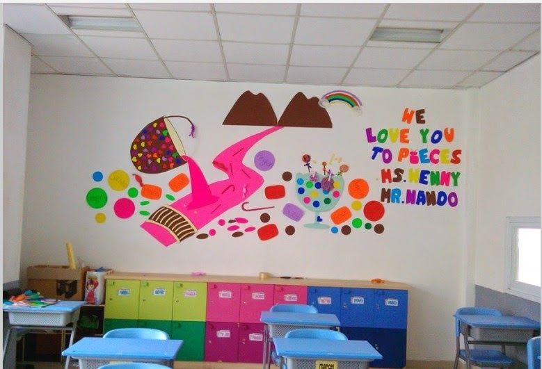 Foto Background Kelas Keren 25 Gambar Kartun Ruangan Kelas 17 Hiasan Kelas Yang Kreatif Unik Menarik Beserta Gambarnya Download Download 45 Bac Dinding Gambar Dinding Lukisan Dinding