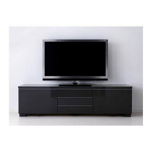 neispravan meuble tele ikea noir
