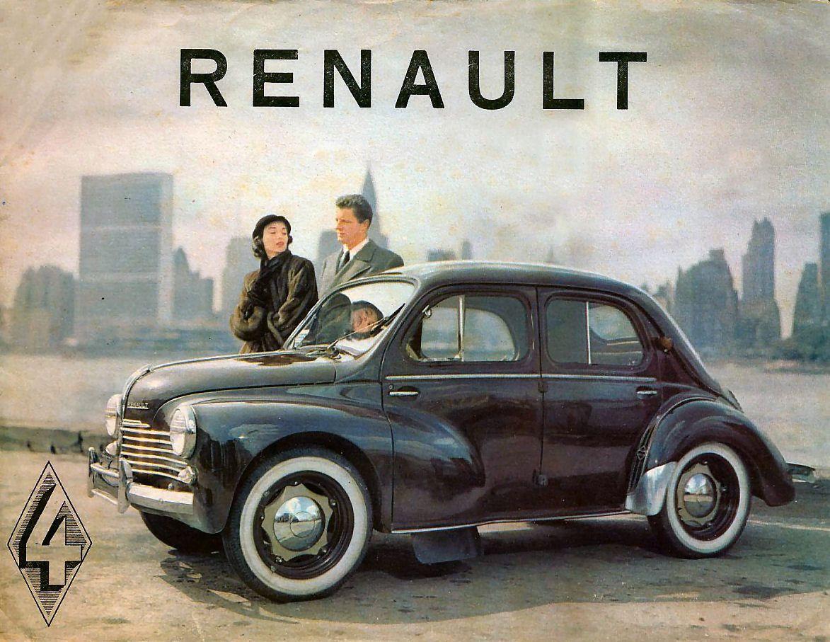 1954 renault 4cv renault pinterest. Black Bedroom Furniture Sets. Home Design Ideas