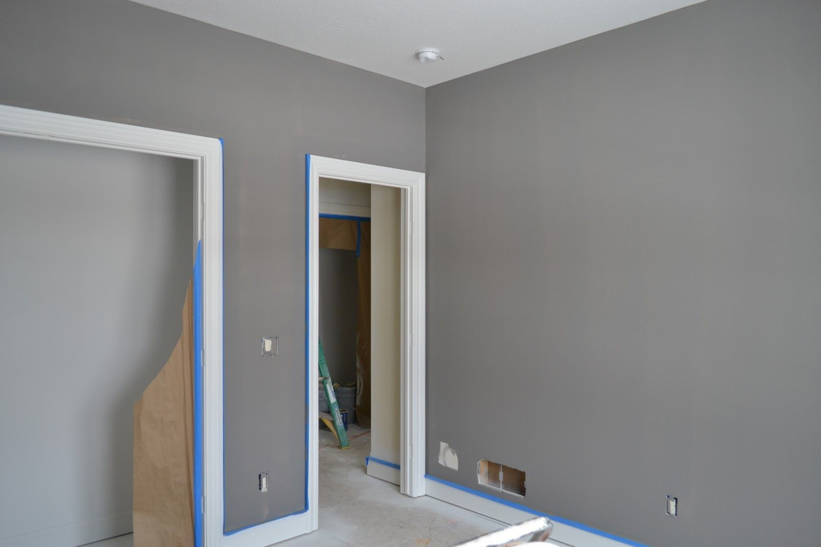 Master bedroom grey paint ideas  Dovetail Sherwin Williams  Master bedroom  Pinterest  Home Paint