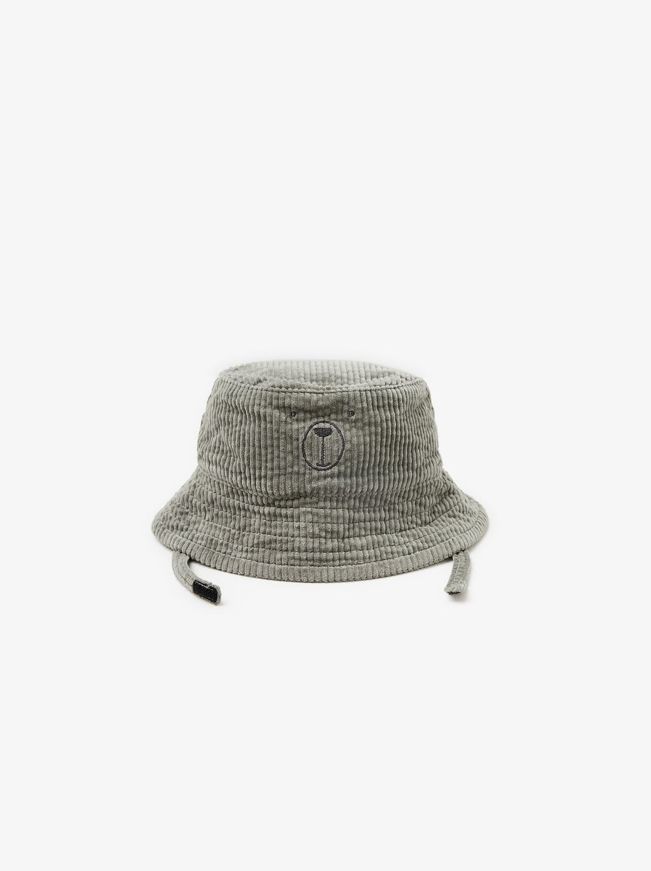 Embroidered Corduroy Bucket Hat Hats Scarves Accessories Baby Boy 3 Months 5 Years Kids Zara United States Corduroy Bucket Hat Zara Kids Bow Rain Boots