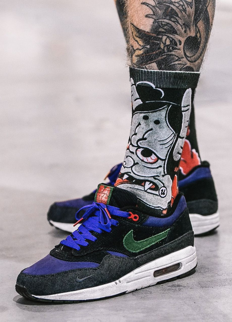 837352e9114 Patta x Nike Air Max 1 - Blue Denim Corduroy - 2009 (by Kamil Tomaszewski)  Pack and travel with shoe trees by Sole Trees #Sneakers #ShoeTrees  #SoleTrees # ...