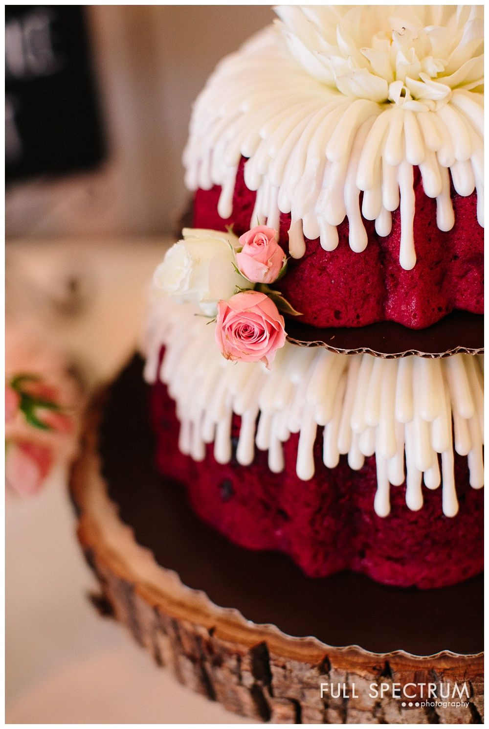 Nothing Bundt Cakes Wedding Cake Strawberry Farms Irvine Full Spectrum Photography